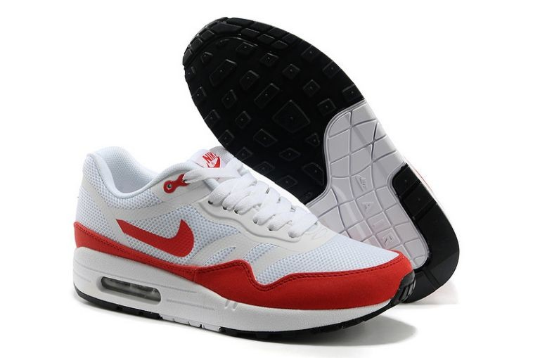 Nike Air Max 1 Premium Tape Women's Running Shoes OG Red